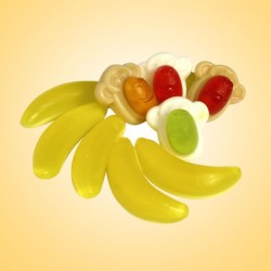 PEDRO Banán és Majom gyümölcsös zselé 1000 g
