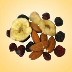 Gyümölcskeverék és pörkölt mandula 500g