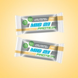 MIG 21 Protein BAR – Vaníliás protein szelet 380g